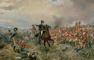 The Duke of Wellington at Waterloo.