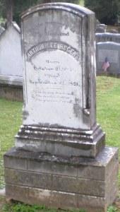 Grave of Maj. Rogers, Middleburg, VA