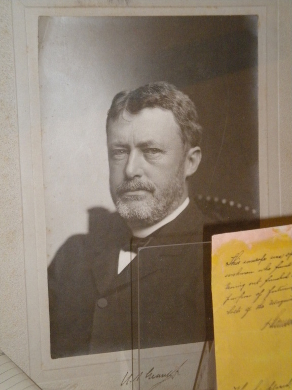 "Ulysses S. Grant, Jr., was known as ""Buck"" because he was born in Ohio, the Buckeye State."
