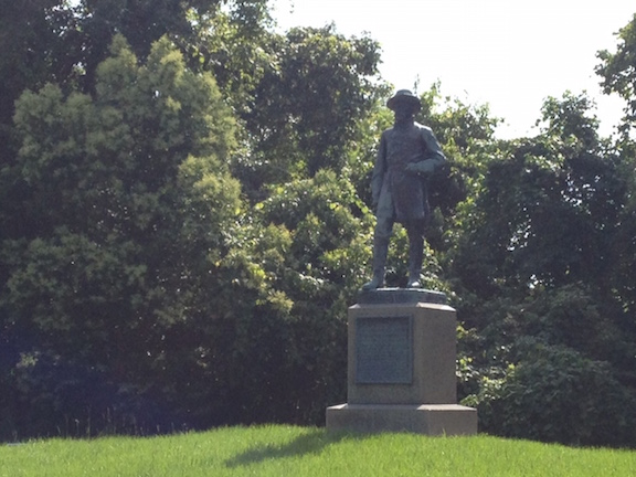 Pemberton Statue