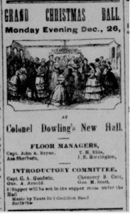 A Grand Christmas Ball in Washington Territory, 1864