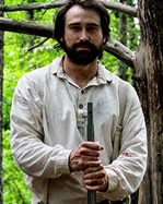 Actor Sean Stone portrays Sergeant Joseph Hoover, the Union Soldier whose journal inspired the movie