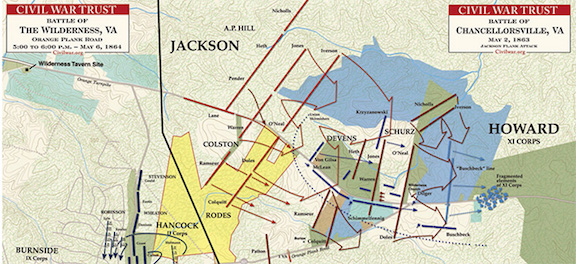 http://www.civilwar.org/battlefields/chancellorsville/maps/chancellorsville-wilderness-crossroads.html
