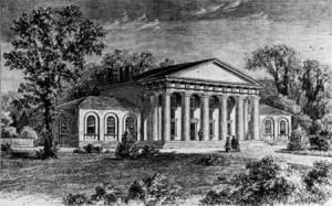 Arlington House (where the Lee children grew up)