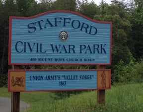 Stafford Park Sign
