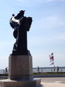 Defenders of Charleston-Flag Display
