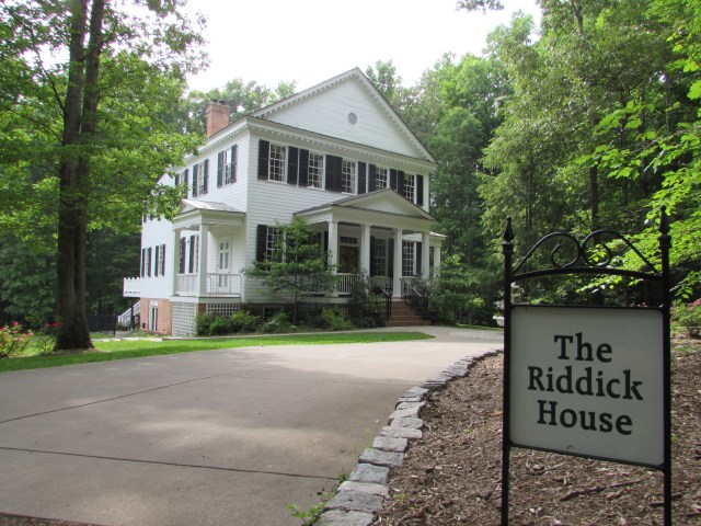 The Riddick House at Stevenson Ridge is the home of the Third Annual Emerging Civil War Symposium at Stevenson Ridge.