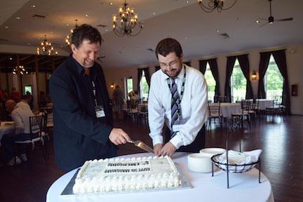 5th Anniv Cake Cutting