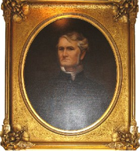 (Bishop Leonidas Polk. Oil on Canvas C. 1905. In the collections of Christ Church Cathedral, Nashville TN.)