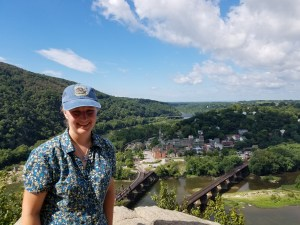 Sarah Kay Bierle at Maryland Heights Overlook