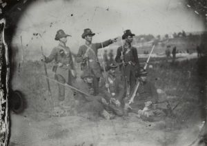 Members of the 2nd Wisconsin Regiment, 1861. (Wisconsin Historical Society)