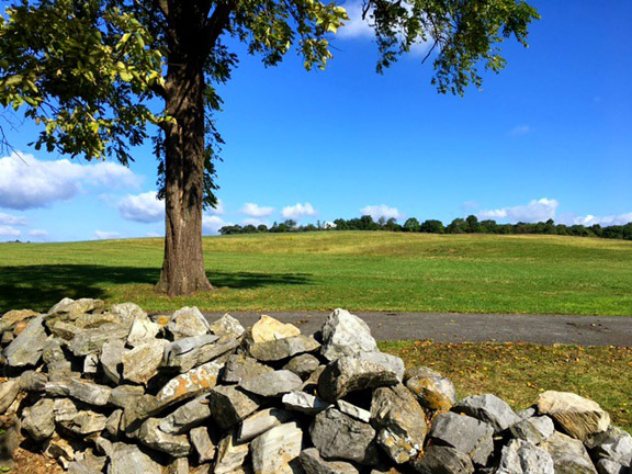 Kernstown-Pritchard Hill from Stone Wall