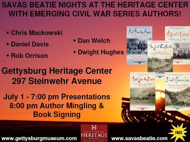 ECWS-Gettysburg event