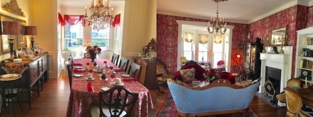 Ruark Inn-parlor and dining room
