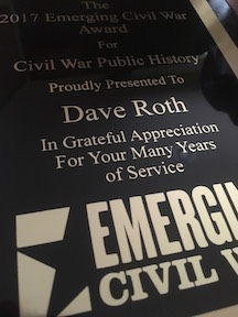 Roth Award plaque