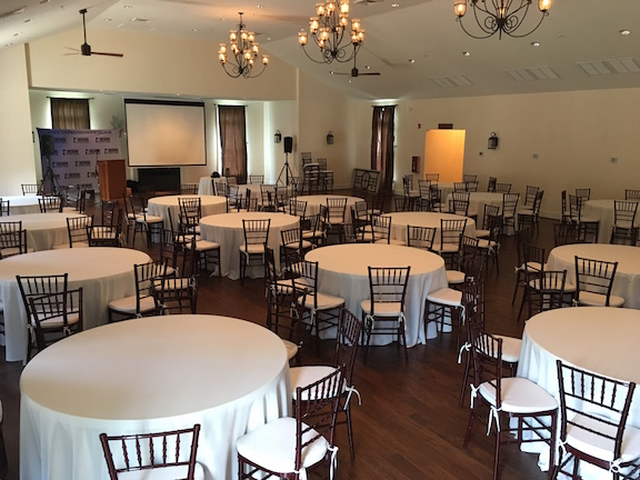 Symposium 2017 setup