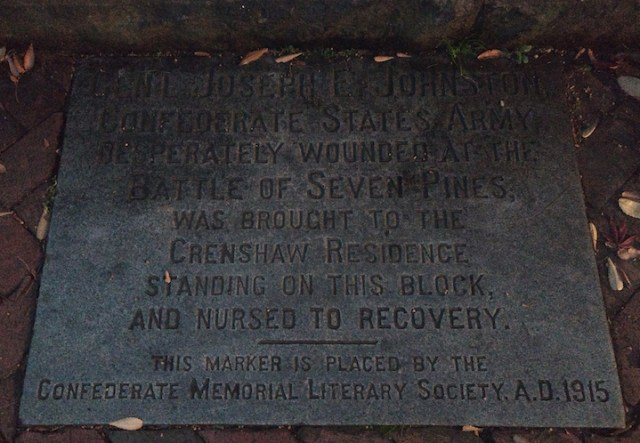 Johston wounding plaque