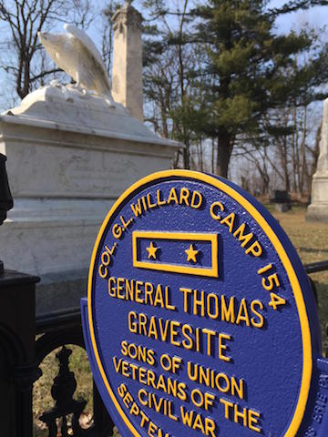 Thomas Gravesite Marker