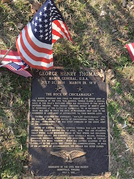 Thomas Gravesite Plaque