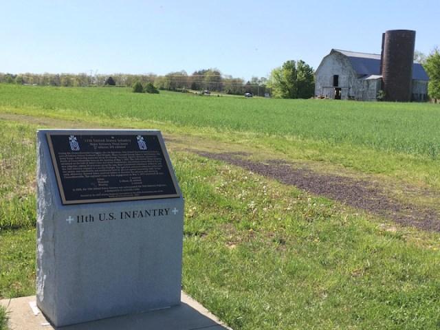 11th U.S. monument at C-ville