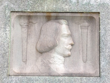 Johnston, AS bas relief