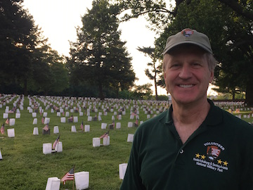 Don at Cemetery