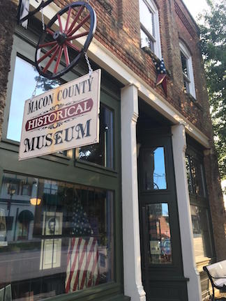 Macon Museum Storefront