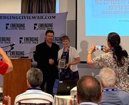 Sarah Gets Award