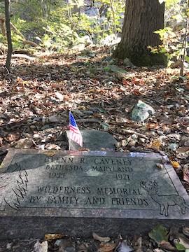AT WIlderness Memorial