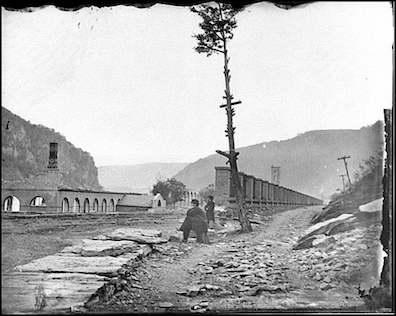 Harper's Ferry Arsenal Ruins