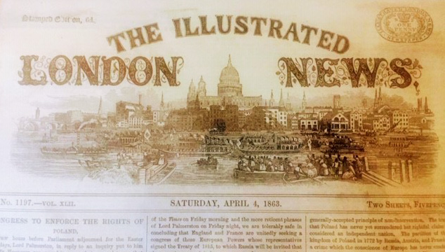 London News April 4 1862