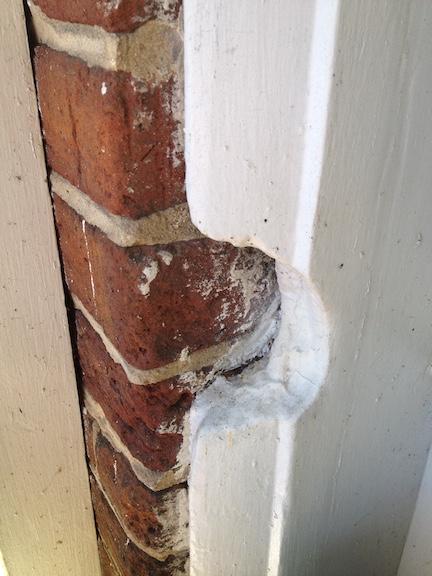 Fox House Battle damage