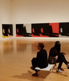 MOCA Andy Warhol Shadows photos by Rhonda P. Hill (7), edited