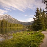 The Bow River Trail in Banff