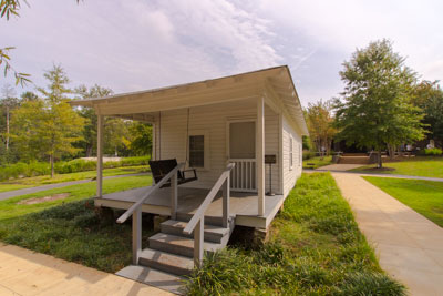 Elvis Presley birthplace at 306 Elvis Presley Drive in Tupelo, Mississippi/