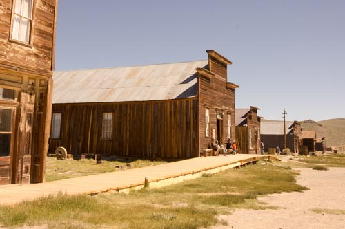 Museum & Visitor Center in the Miners Union Hall
