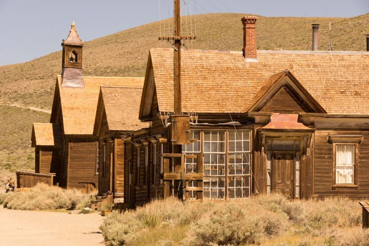 Time stands still at Bodie State Historic Park