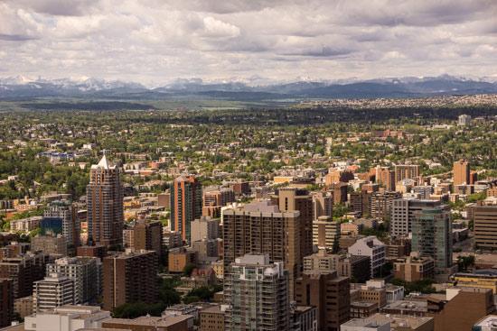 Calgary viewed from the Calgary Tower