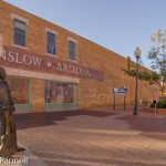 Standin' on the Corner Park in Winslow, Arizona