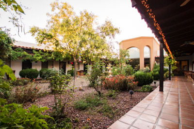 Courtyard at Casa de San Pedro