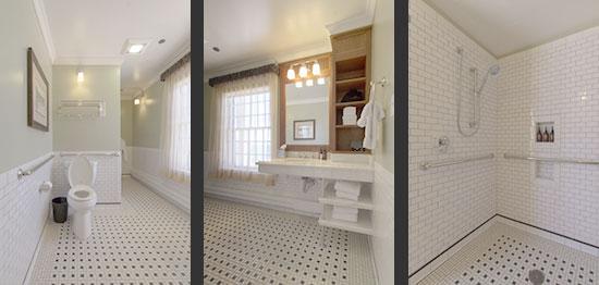 Bathroom in Room 126