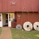 Entrance to the Display Barn