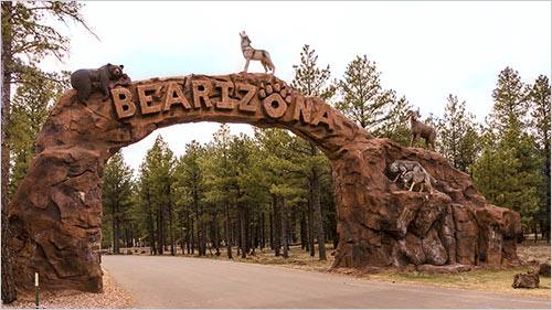 Entrance to Bearizona