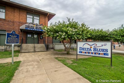 The Delta Blues Museum in Clarksdale, Mississippi
