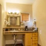 Sink in suite 53 at Ojo Caliente Hot Springs