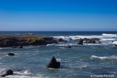 Ocean view from the boardwalk