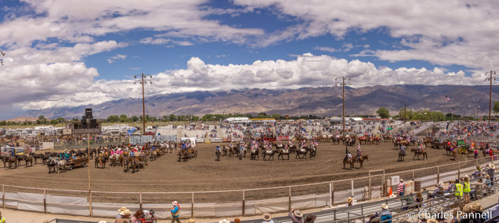 Mule Days rodeo arena