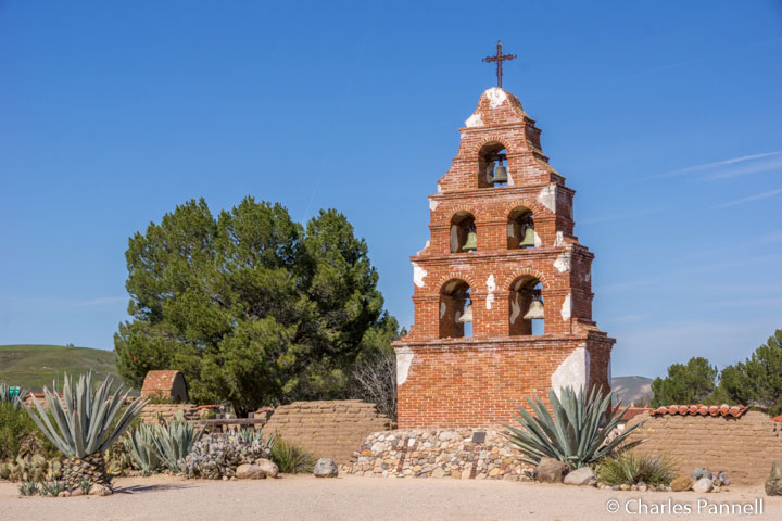 Along the Central California Mission Trail