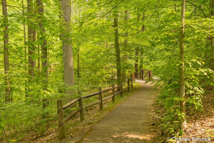 Trail through the West Virginia Wildlife Center