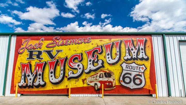 Jack Sisemore Traveland RV Museum in Amarillo, Texas